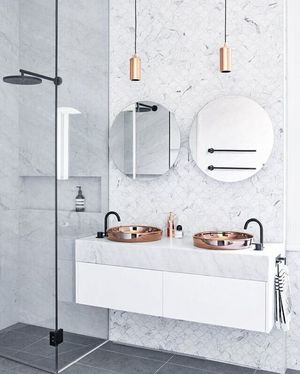 大连卫浴装修能用壁纸吗?