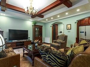 龙湖紫云台+243㎡+美式风格丨独栋别墅装修设计