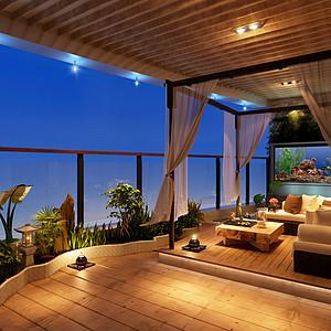 阳台与客厅连接该如何装修设计呢?来学习一下吧