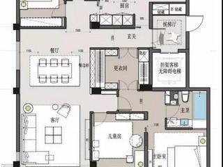 保利垄上-新古典450平米-户型解析