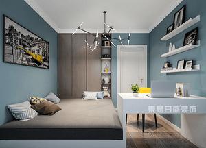 卧室书房装修效果图 卧室书房装修设计注意事项