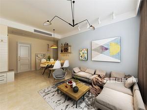 100平三室两厅装修效果图鉴赏,现代装修风格演绎幸福生活!