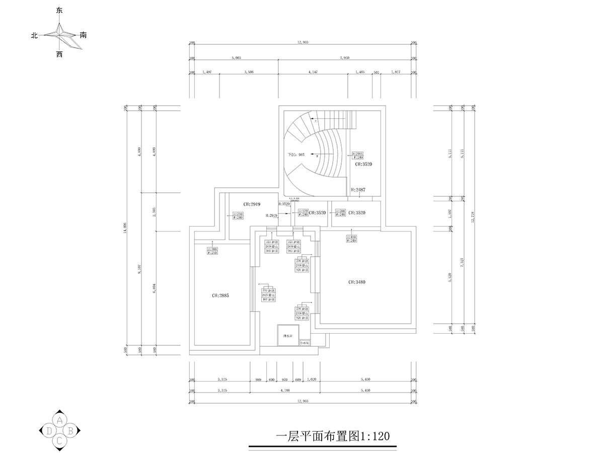 锦绣四明-万树900平米中式风格装修设计理念