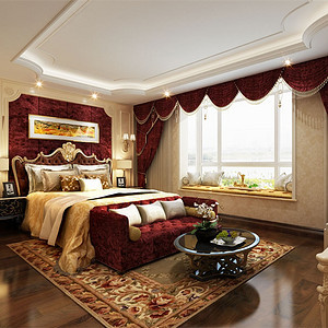 欧式卧室装修设计要怎么做?北京欧式装修效果图