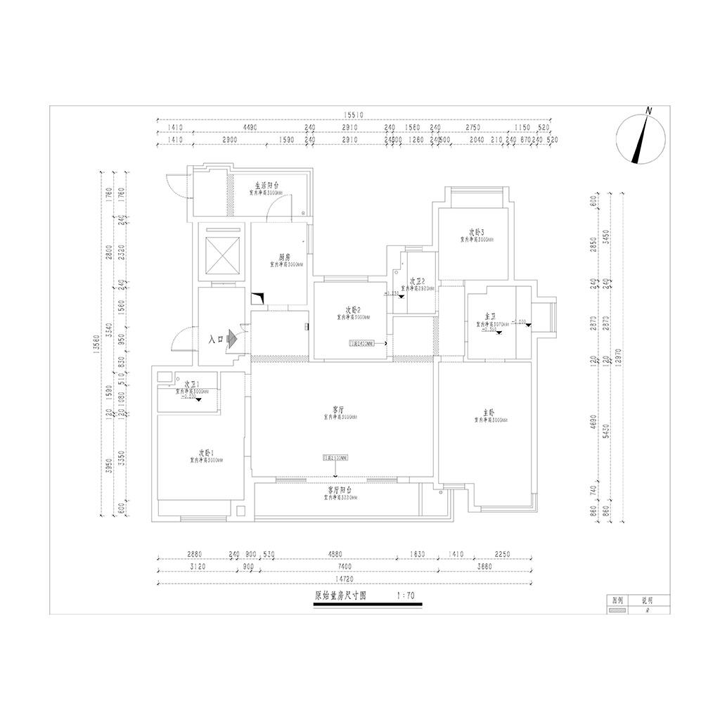 龙湖紫宸170㎡四居室现代简约风格装修设计理念