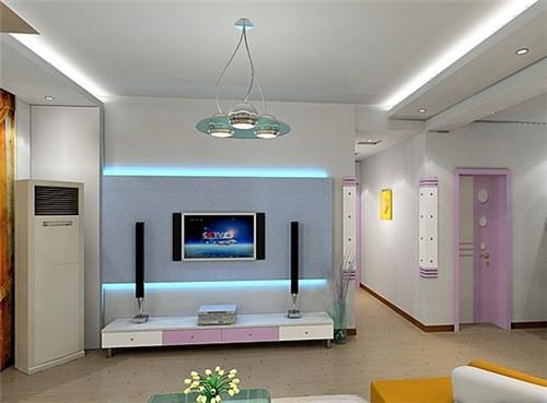 电视背景墙如何装修?(图一)