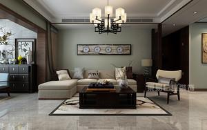 新中式风格四居室装修设计,造就150平米文艺温暖居