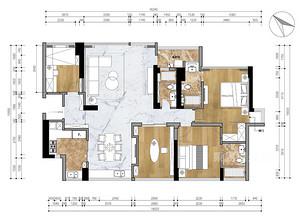 鲁能7号别墅-780平米-户型解析
