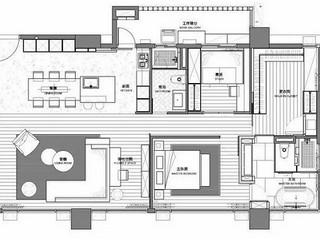 檀香山-新古典160平米-户型解析