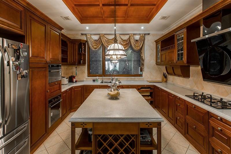 厨房别墅装修实景照片
