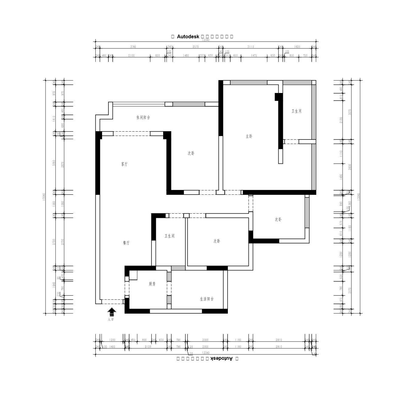 现代简约装修效果图丨复地金融岛178㎡四居室装修案例装修设计理念