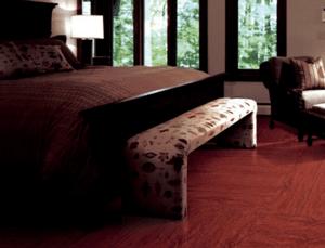 卧室木纹砖效果图分享及铺贴方法