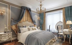卧室墙面选色,风格是关键