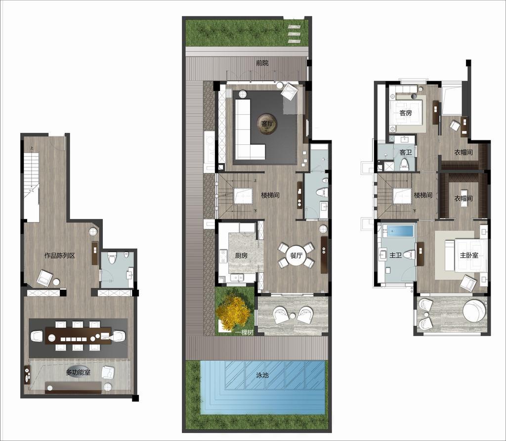 海创·柒贤贡院-新古典-292平米装修设计理念