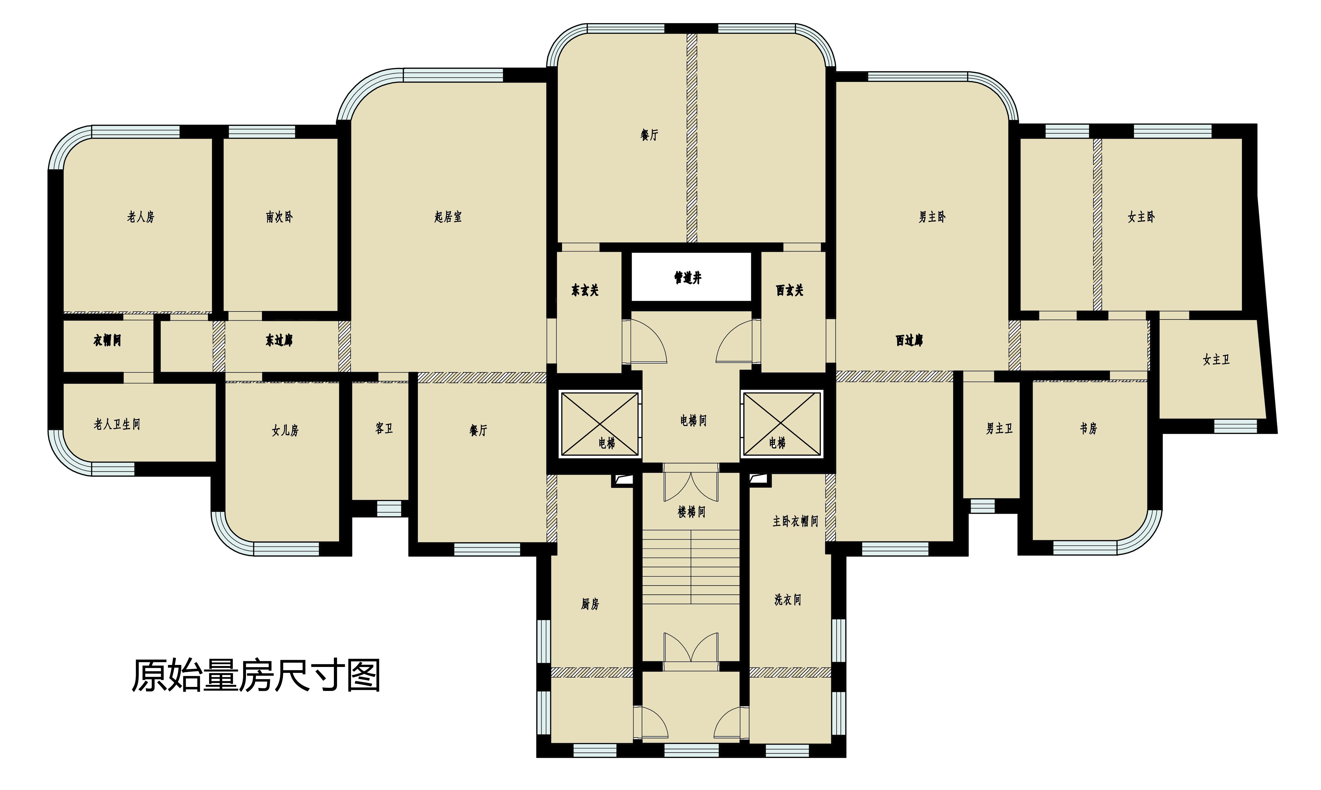 明秀庄园-法式-400平装修设计理念