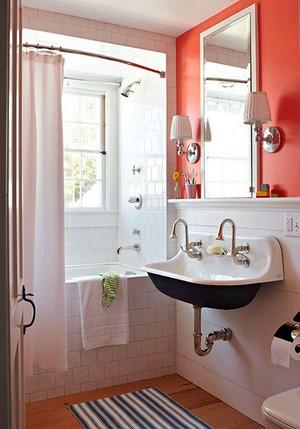 卫浴空间设计方案,完美规划卫浴空间