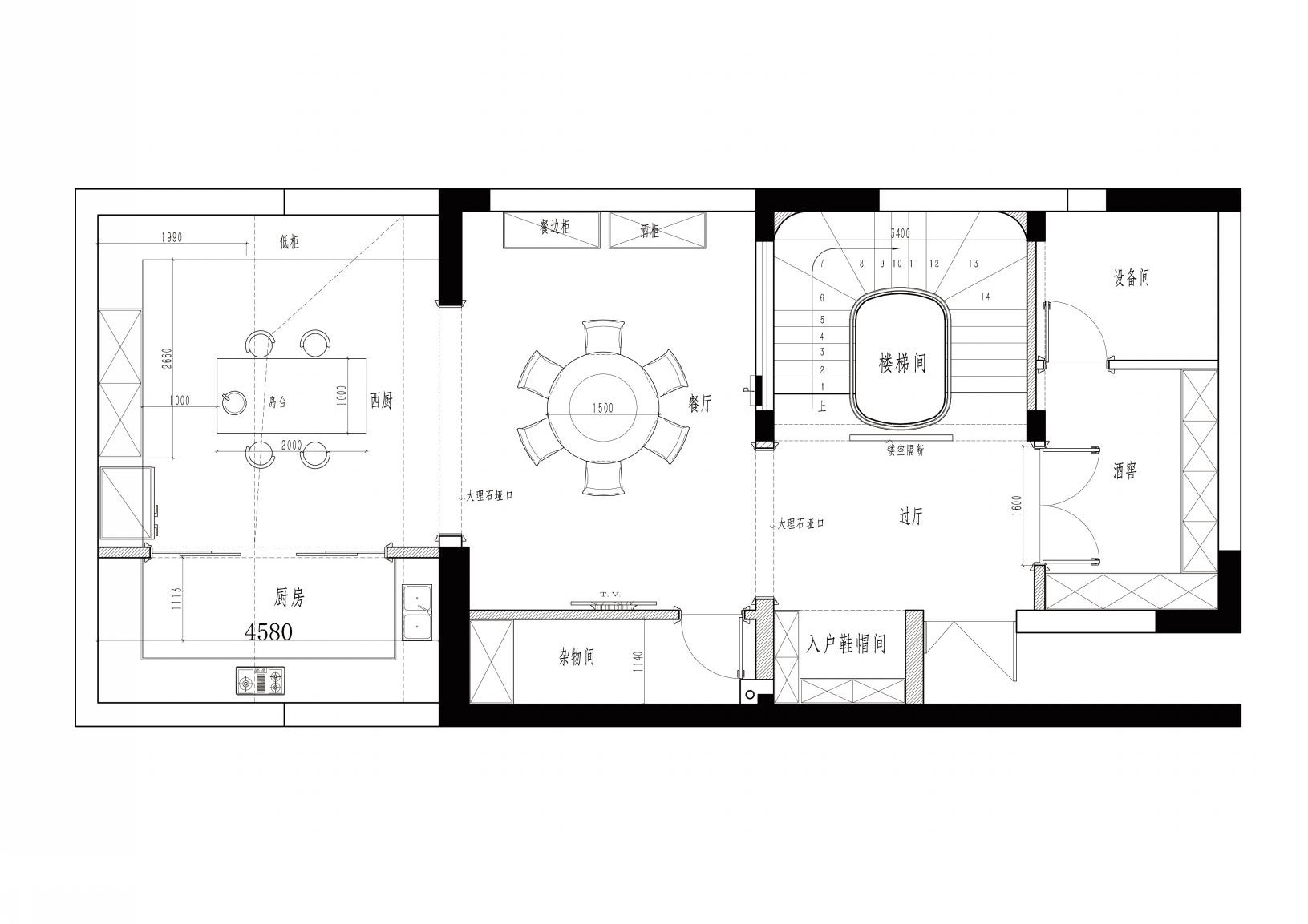 瑞安翠湖山310美式风格装修设计理念