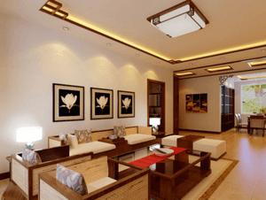 别墅装修中式古典风格,两大技艺的融合