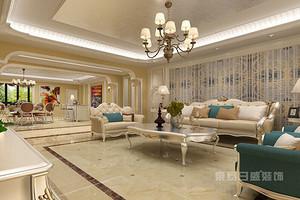 欧式客厅装修设计要点大放送 效果图赏析