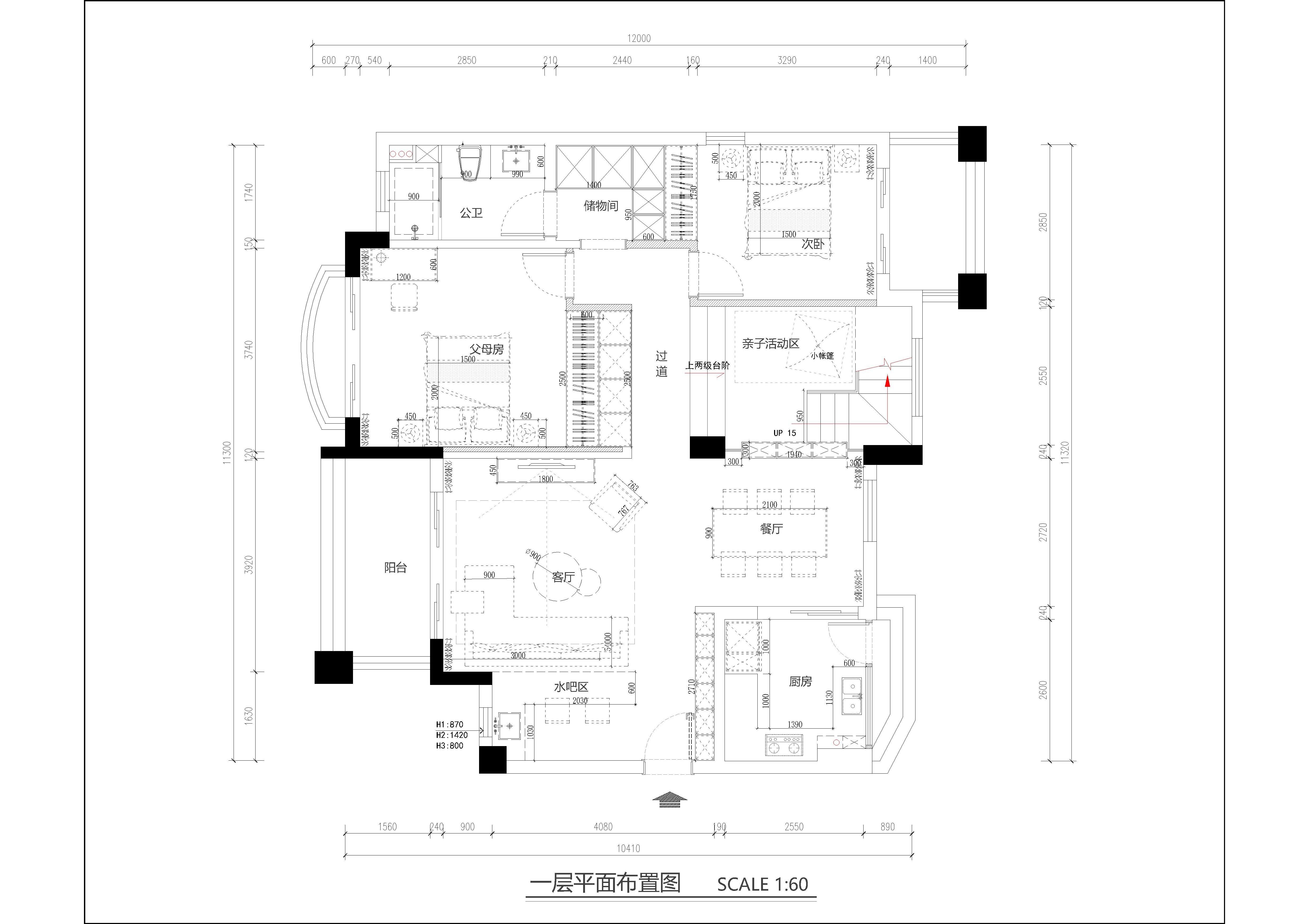 广州星河湾装修案例 200㎡美式风格五房二厅家装效果图装修设计理念