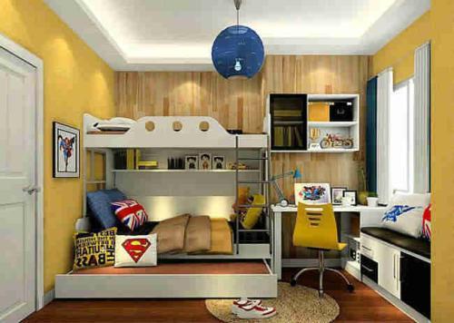 小户型儿童房装修设计考验设计师能力