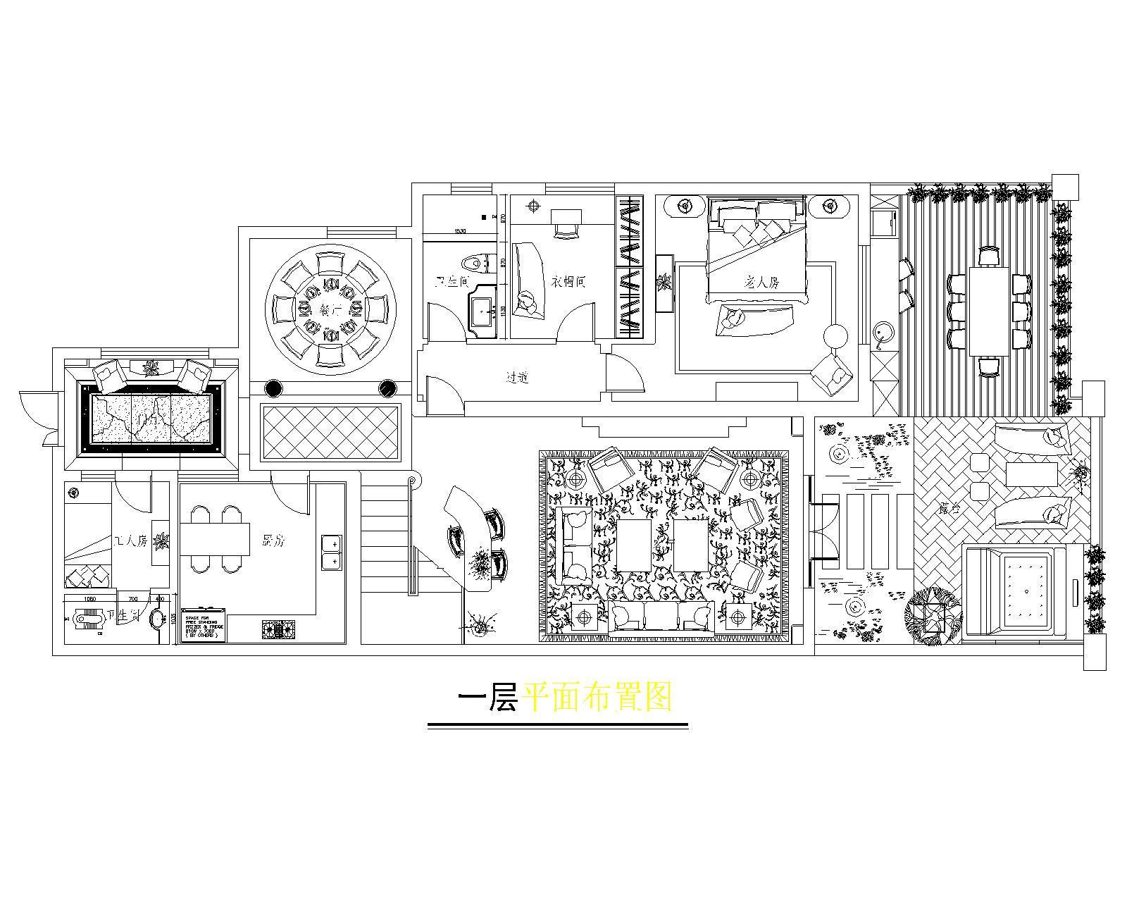 南湖万国260㎡美式性状style装潢成果图装潢策划愿景