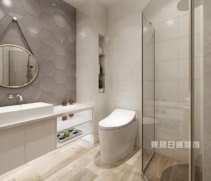 上海小户型卫生间装修设计有技巧 让你清理收拾更高效