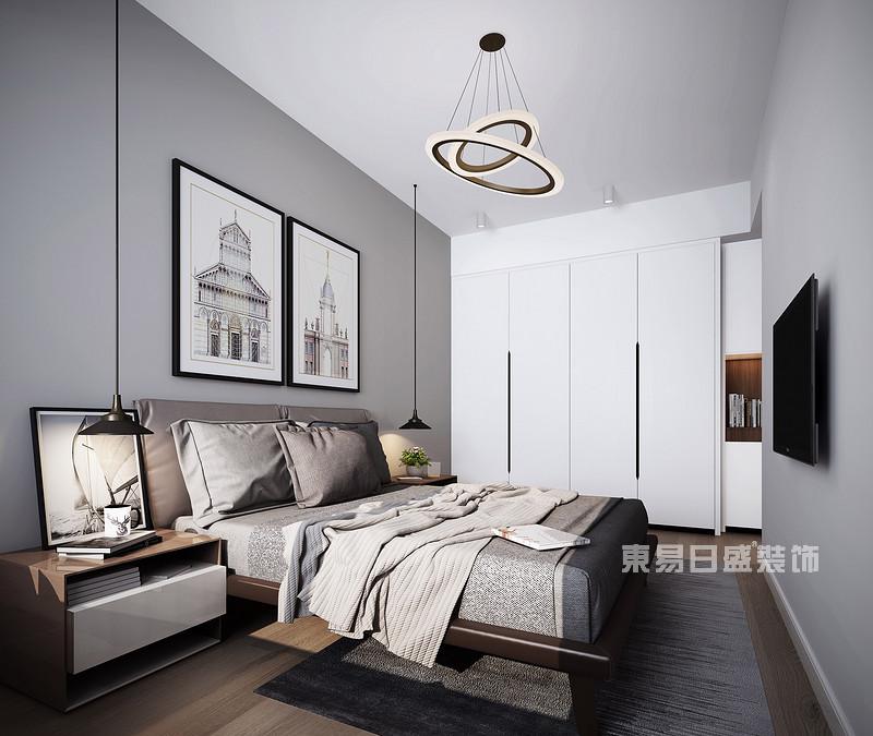 北欧风格卧室装修效果图_东易日盛设计