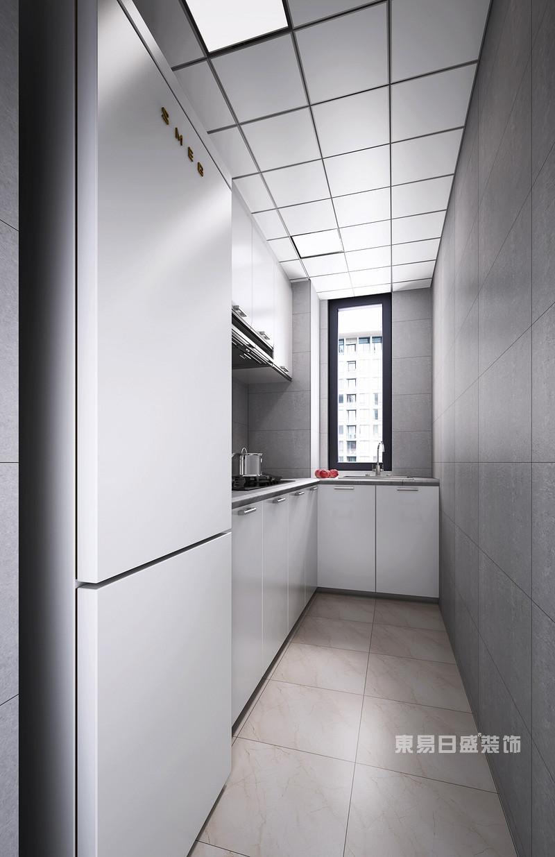 北欧风格厨房装修效果图_东易日盛设计