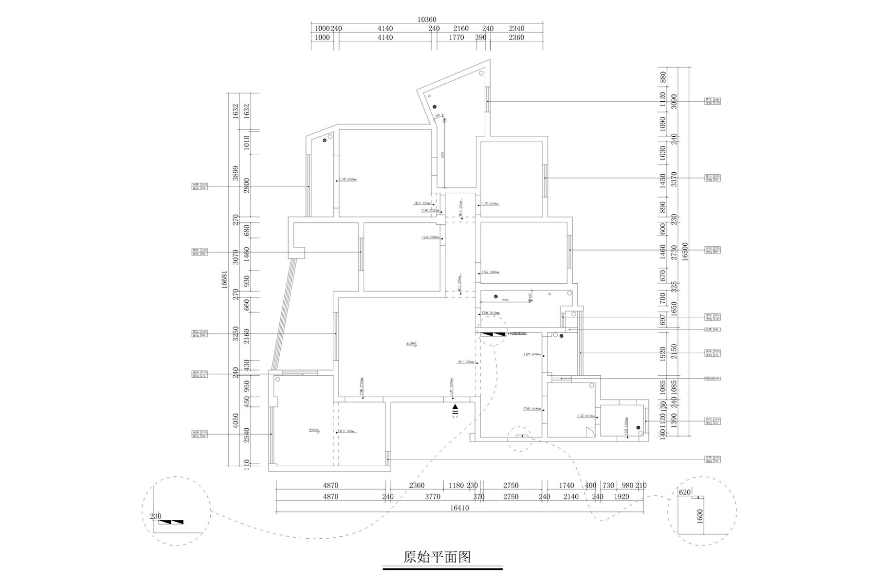 建业森林半岛现代港式210㎡五室两厅装修设计理念
