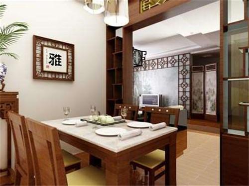 中式餐厅装饰设计怎么做?