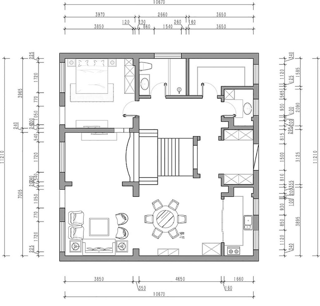 秀月麒林-美式乡村-300平装修设计理念