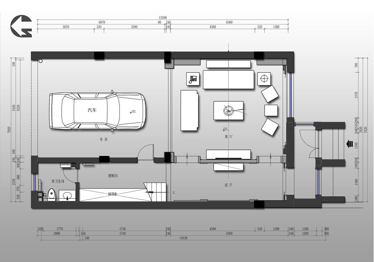 康力家园 简约欧式 320平米装修设计理念