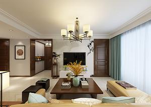 大连客厅装修:温暖色调造就温暖空间