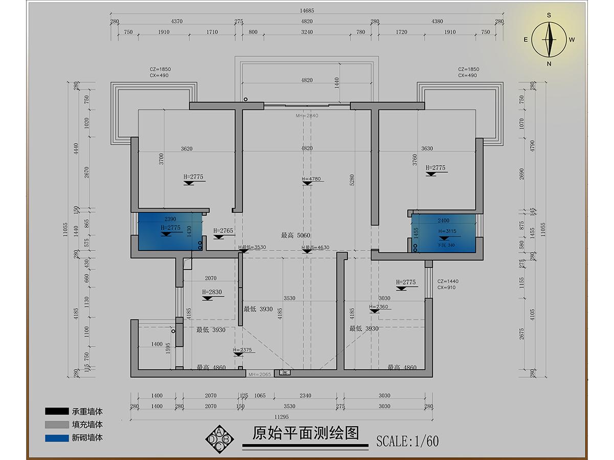 白云山贰号丁宅现代美式140平米装修设计理念