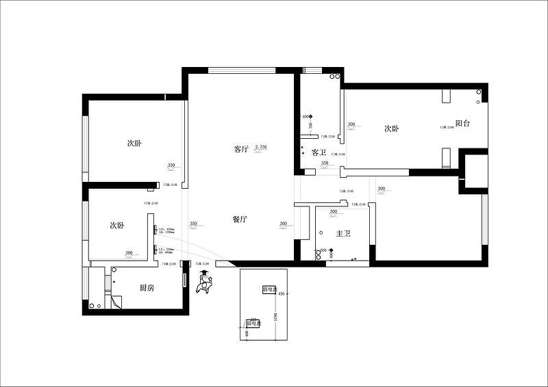 140平米三室两厅怎么装修?东易日盛一套案例告诉你