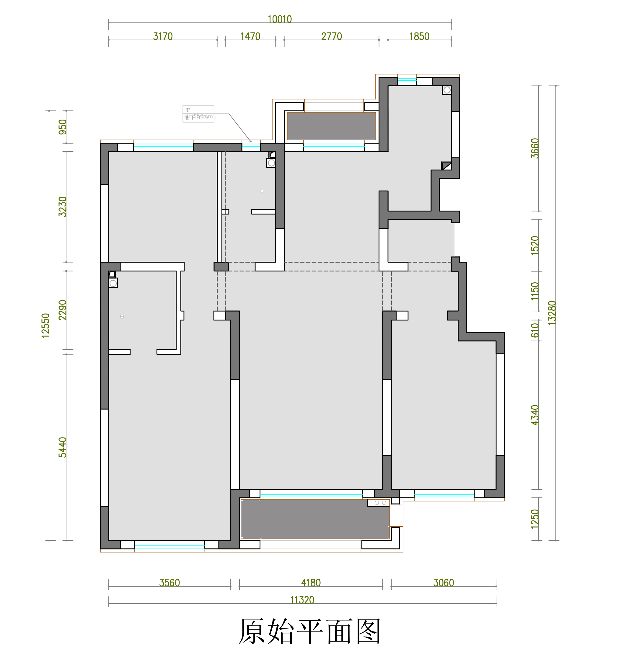 大河宸章140平新中式风格装修效果图装修设计理念