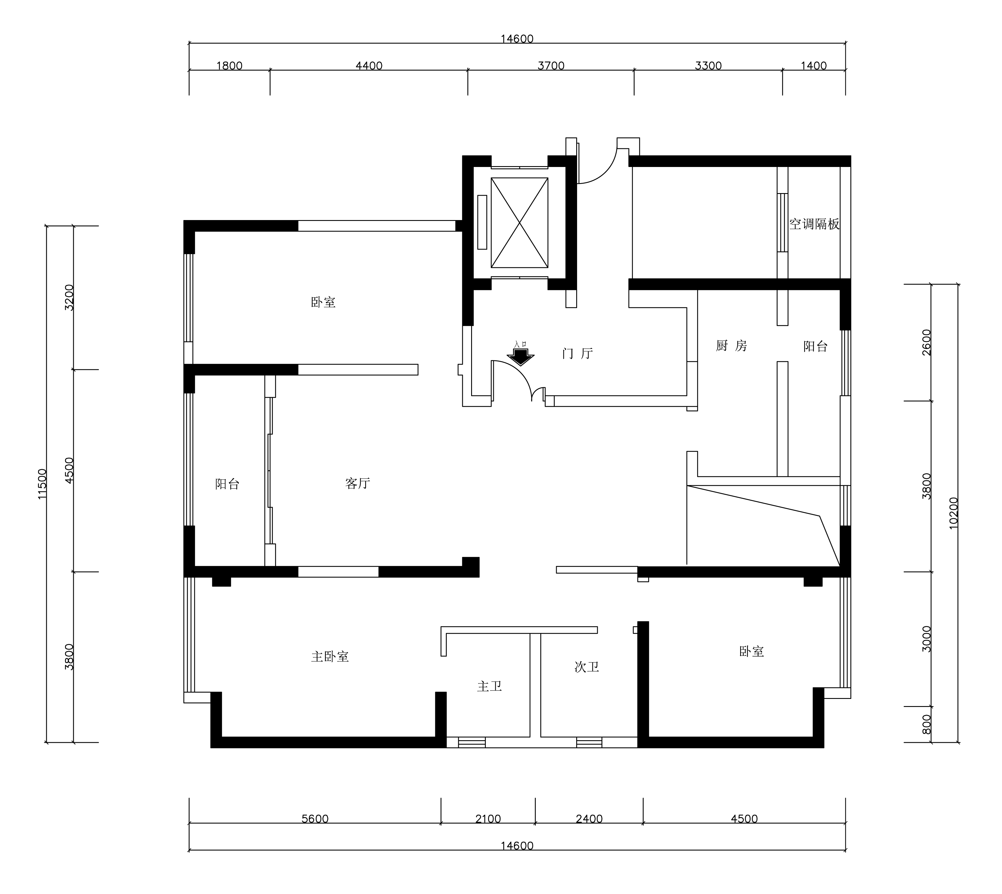 昆明海埂悦府146平米现代简约风格装修效果图装修设计理念