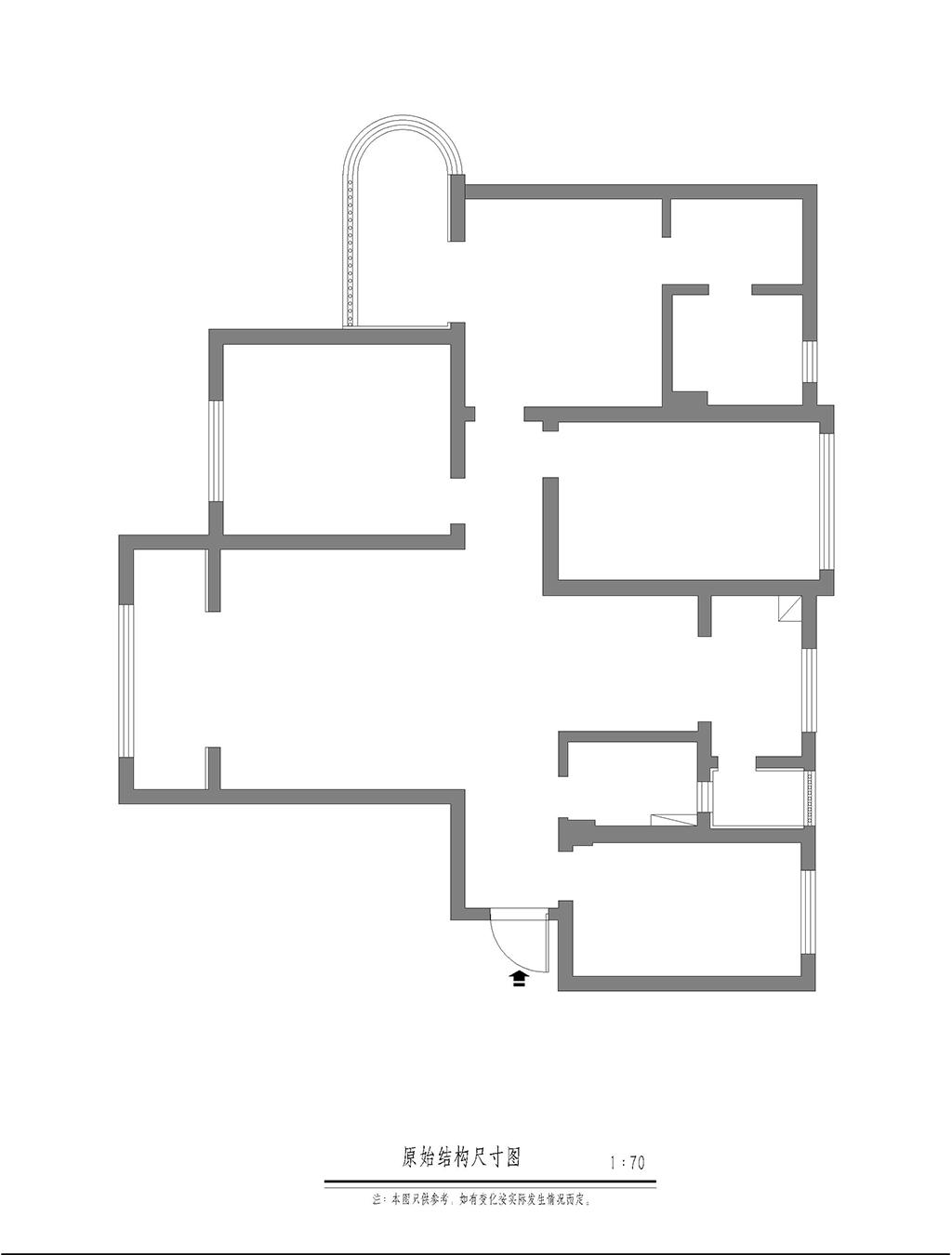 国润城 新中式风格装修效果图 140平米 四室两厅装修设计理念