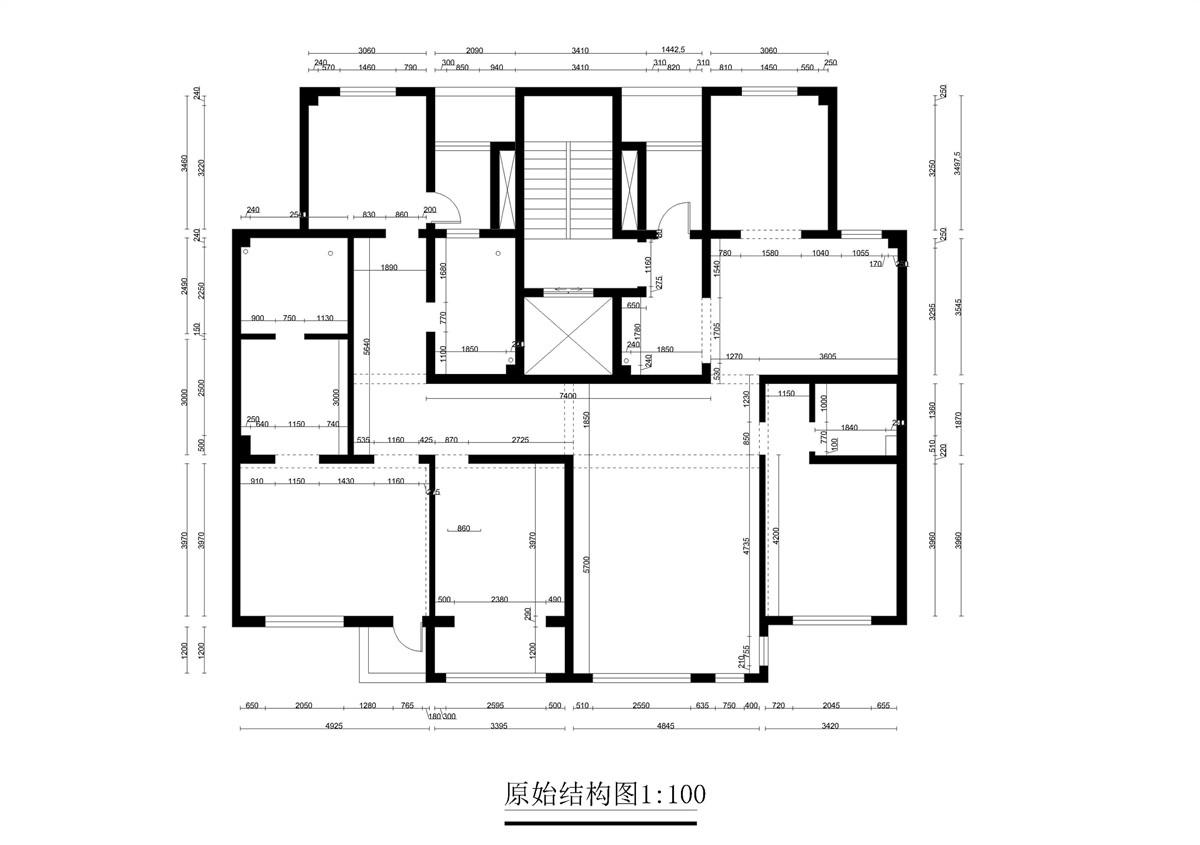 金屋秦皇半岛-超现代风格-240平米装修设计理念