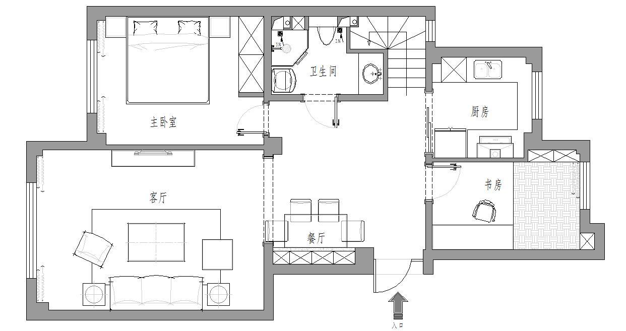 三鼎春天-新古典-170平装修设计理念