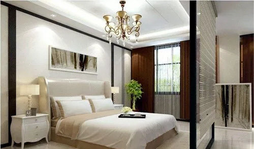 卧室隔断设计效果图,小卧室秒变大空间-深圳别墅装饰