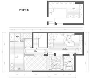 招商1872-新中式风格-455平米-别墅
