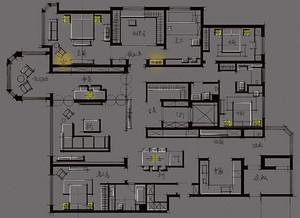 天山九五室二厅户型解析