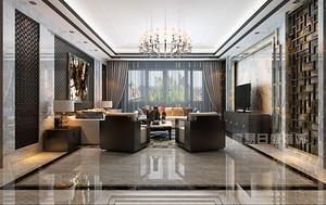 【深圳装修效果图】160平米四居室怎么装修漂亮又省钱?