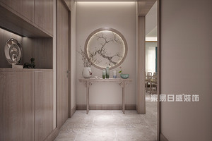 130平米三室二厅装修效果图,带你感受浓浓的中式风情