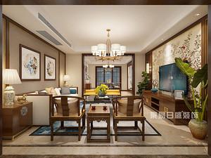 深圳新中式装修效果图,还是这样的风格上档次!