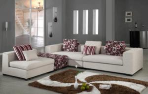 特征性十足的沙发装饰设计