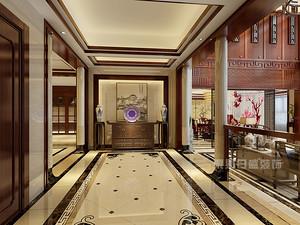 深圳别墅装修效果图,300平米中式也可以很美