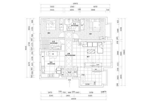 碧桂园194平现代简约风格案例装修设计理念